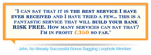 Johns Bonus Bagging Profits