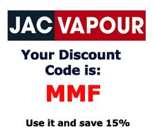 New 2014 JacVapour Discount Codes