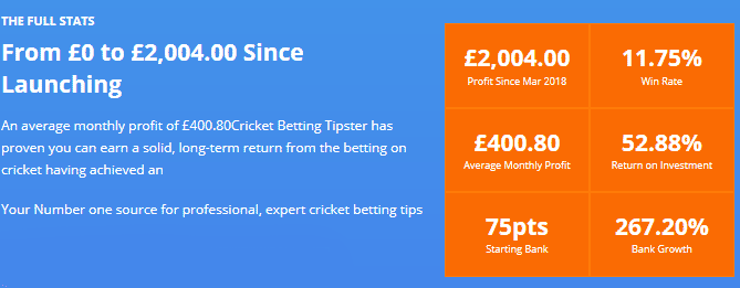 cricket-betting-tipster-stats